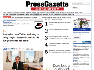 Press Gazette 2 January 2014