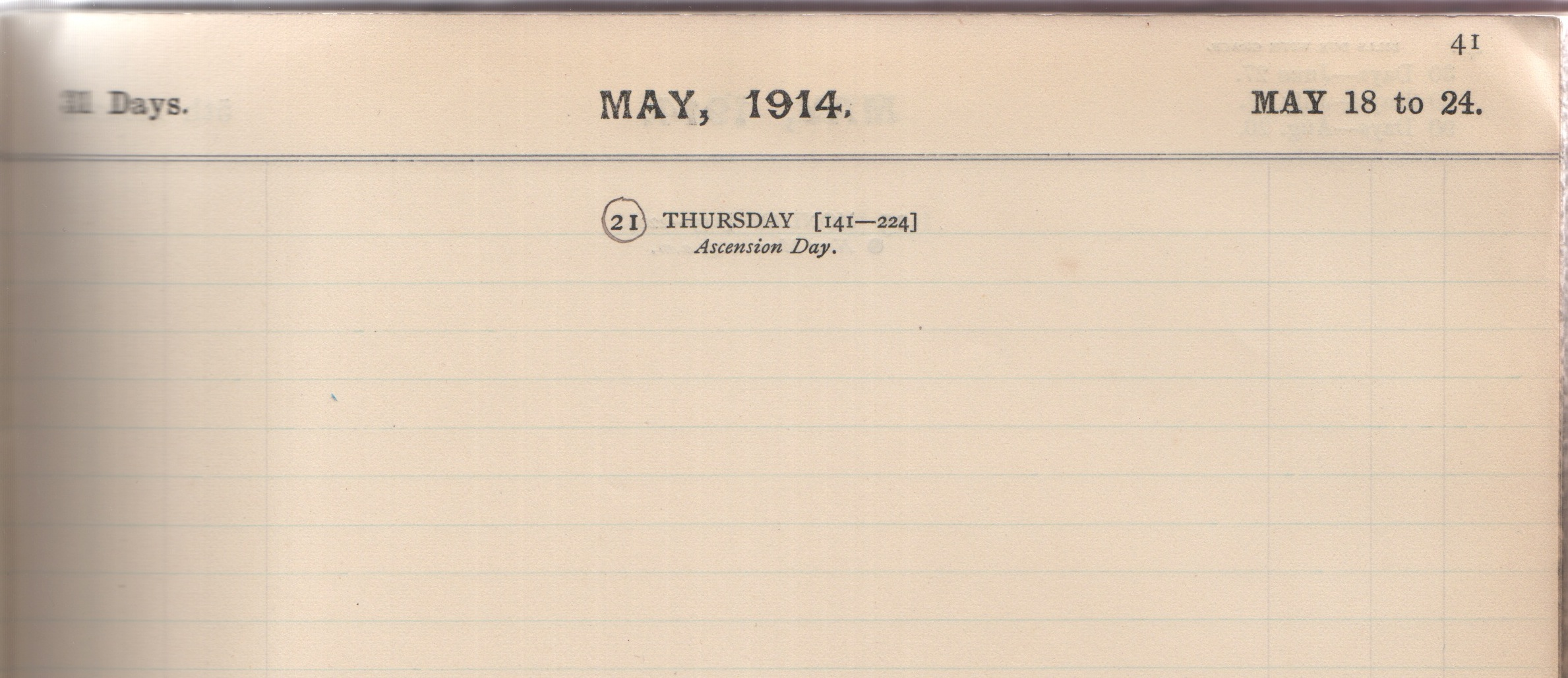 12 May