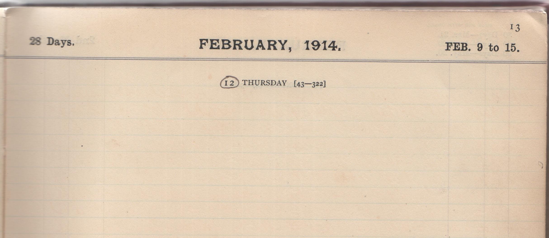 12. February