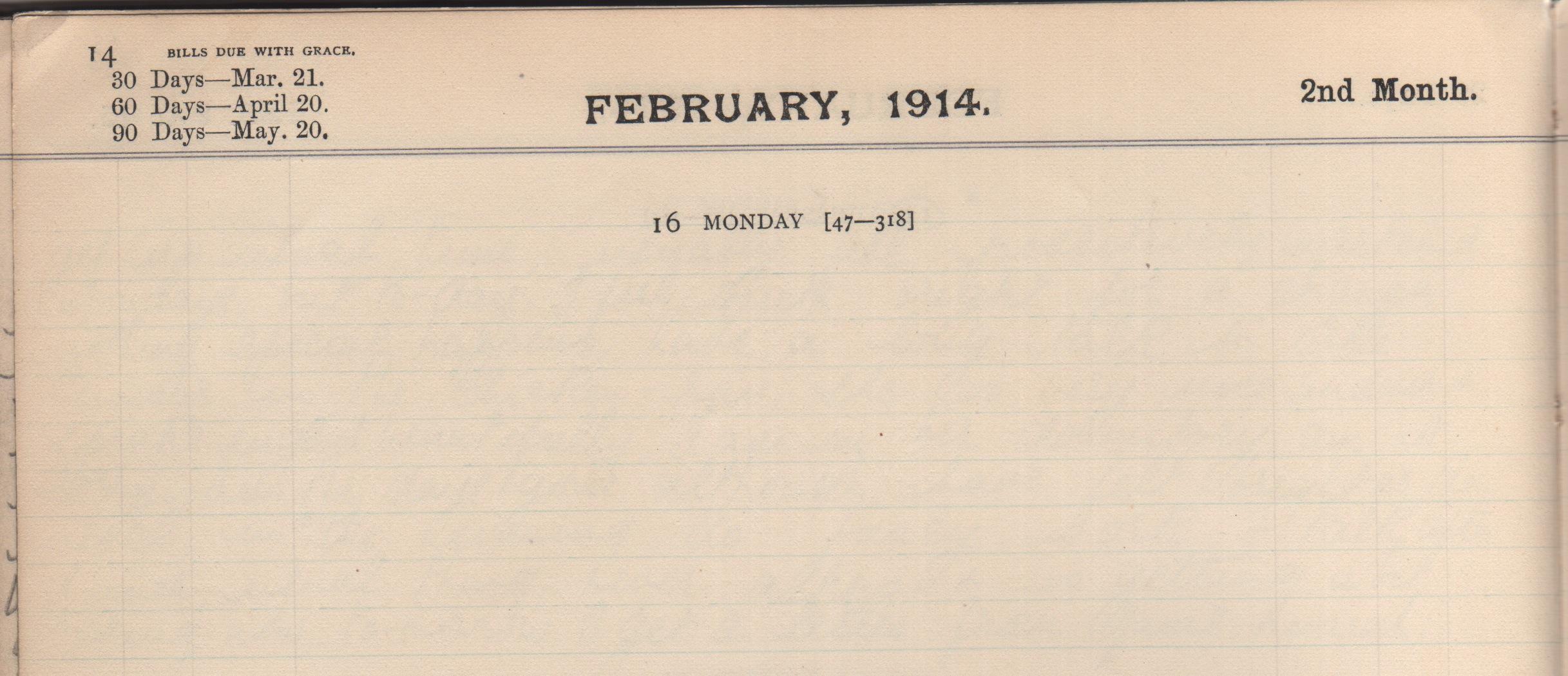 16. February